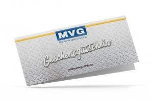 MVG Geschenkgutschein über 250 €